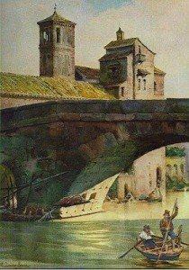 I love...Roma, Ettore Roesler Franz, Ponte rotto