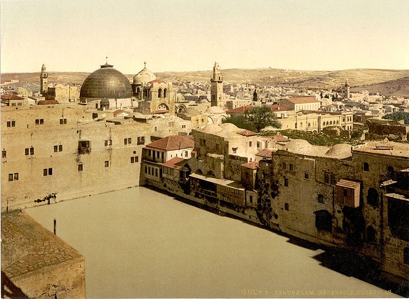 lA PISCINA DI EZECHIA _Jerusalem,_Holy_Land - Copia
