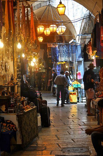 diario mercato a Gerusalemme