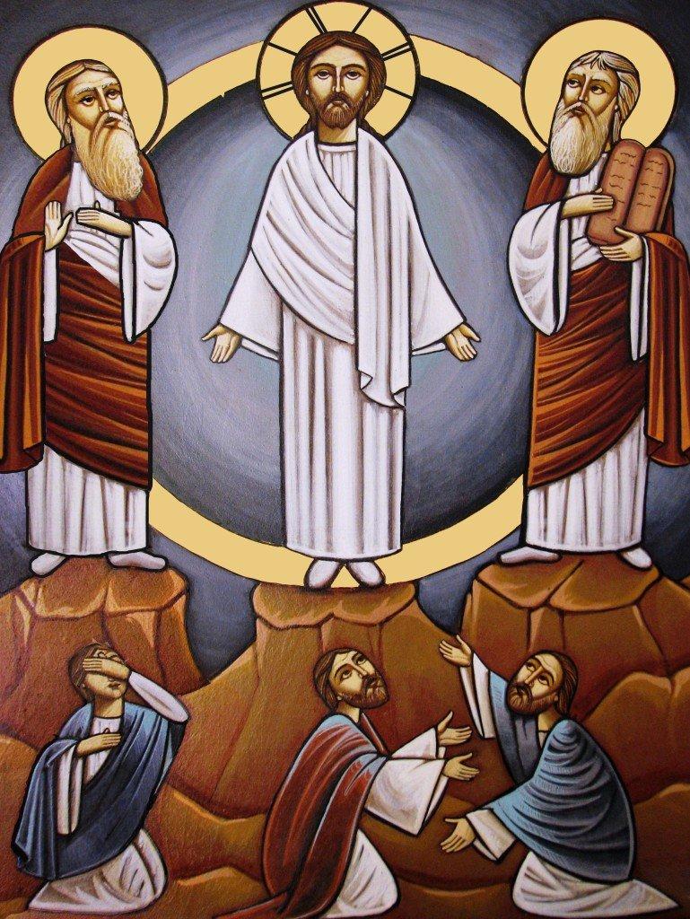 ciottoli e diario, TRasfigurazione copta - Copia