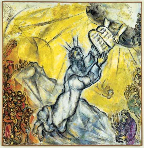 imm  pens e diario chagall mose-riceve-le-tavole-della-legge - Copia