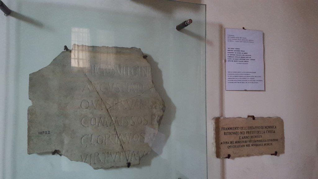 Frammento-epitaffio-Santa-Monica-a-Ostia-Antica
