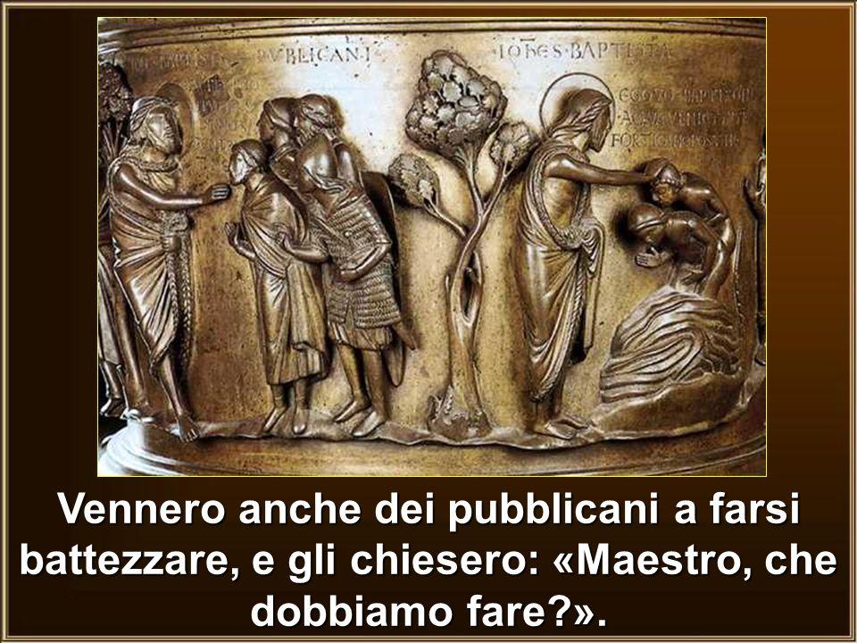 per ciottoli Vennero+anche+dei+pubblicani+a+farsi+battezzare,+e+gli+chiesero_+«Maestro,+che+dobbiamo+fare+».