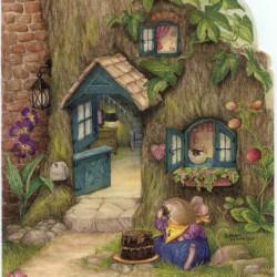 Susan Wheeler, artista di talento del Texas, ha creato nel 1995 il gioioso mondo di 'Holly Pond Hill' ('La collina vicino allo stagno, vicino a Holly') per i suoi quattro figli; un mondo pieno di ..