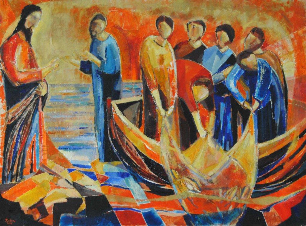 pens e diario Mauro-Caboni-La-pesca-miracolosa-1030x762 - Copia