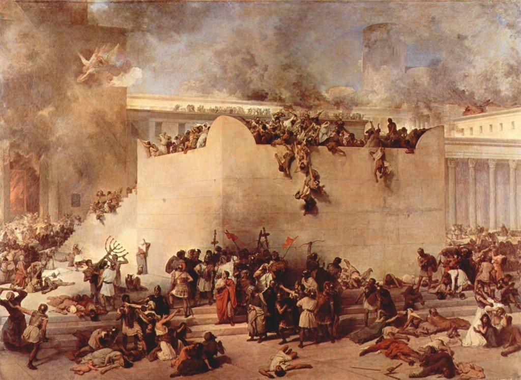 ciottoli e diario Destruição-do-Templo-de-Jerusalém