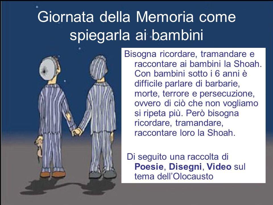 diario Giornata+della+Memoria+come+spiegarla+ai+bambini