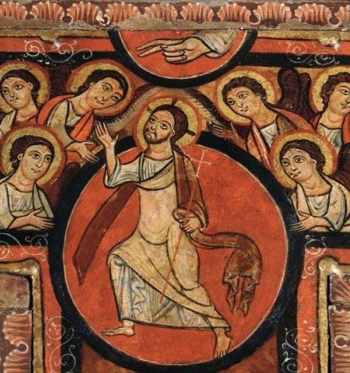 per diario Crocifisso-di-san-Damiano-Assisi.-Dettaglio