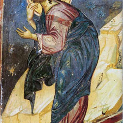 Gesù prega nel Getsemani